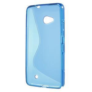 Gelový s-line obal na Microsoft Lumia 640 - modrý - 2