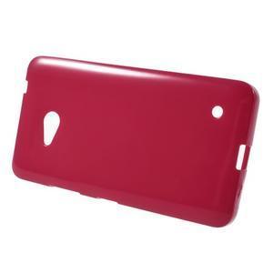 Gelový obal Microsoft Lumia 640 - červený - 2