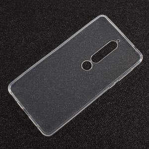 Transparentní gelový obal na Nokia 6.1 - 2