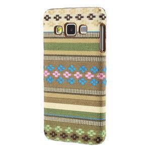 Obal potažený látkou na Samsung Galaxy A3 - 2