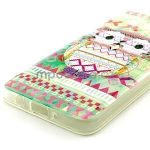 Gelový obal na Samsung Galaxy A3 - sova - 2