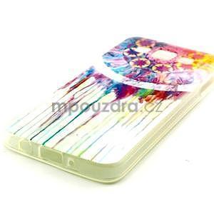 Gelový obal na Samsung Galaxy A3 - stékající barvy - 2