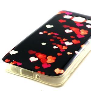 Gelový obal na Samsung Galaxy A3 - srdíčka - 2