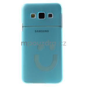 Plastový obal na Samsung Galaxy A3 - modrý - 2