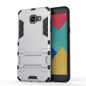 Odolný kryt na mobil Samsung Galaxy A5 (2016) - stříbrný - 2