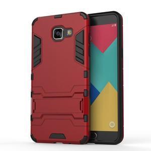Odolný kryt na mobil Samsung Galaxy A5 (2016) - červený - 2