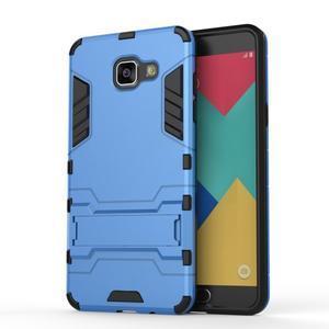 Odolný kryt na mobil Samsung Galaxy A5 (2016) - světlemodrý - 2