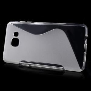 S-line gelový obal na mobil Samsung Galaxy A5 (2016) - transparentní - 2