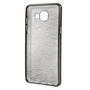 Brush gelový obal na Samsung Galaxy A5 (2016) - černý - 2