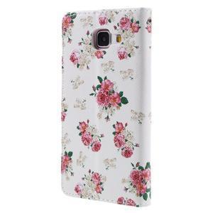 Stylové pouzdro na mobil Samsung Galaxy A5 (2016) - květiny - 2