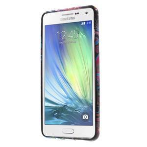 Obal s motivem na mobil Samsung Galaxy A5 (2016) - barevné kruhy - 2
