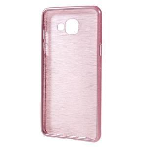 Brush gelový obal na Samsung Galaxy A5 (2016) - růžový - 2