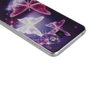 Ultratenký gelový slim obal na Samsung Galaxy A5 (2016) - kouzelní motýlci - 2