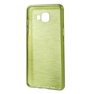 Brush gelový obal na Samsung Galaxy A5 (2016) - zelený - 2