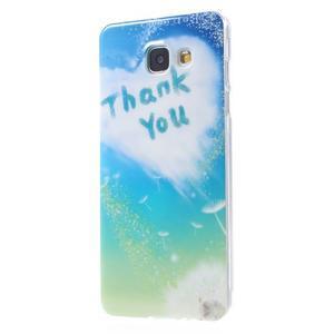 Emotive obal pro mobil Samsung Galaxy A5 (2016) - děkuji - 2