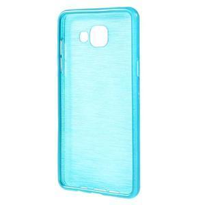 Brush gelový obal na Samsung Galaxy A5 (2016) - modrý - 2