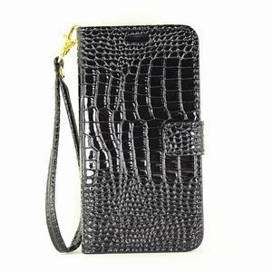 Croco peněženkové pouzdro Samsung Galaxy A5 (2016) - černé - 2