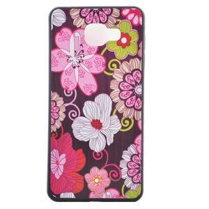 Gelový obal na mobil Samsung Galaxy A5 (2016) - květiny - 2