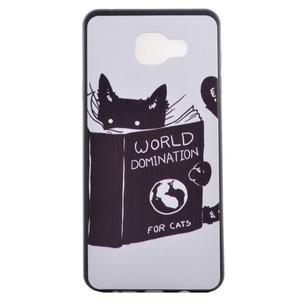 Gelový obal na mobil Samsung Galaxy A5 (2016) - kočička - 2