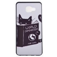 Gelový obal na mobil Samsung Galaxy A5 (2016) - kočička - 2/6