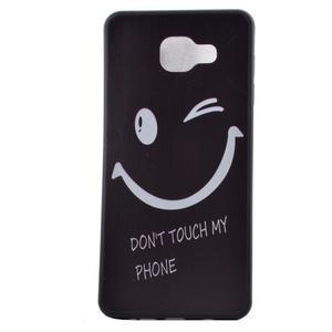 Gelový obal na mobil Samsung Galaxy A5 (2016) - nešahat - 2