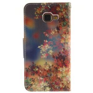 Pouzdro na mobil Samsung Galaxy A5 (2016) - podzimní lístečky - 2