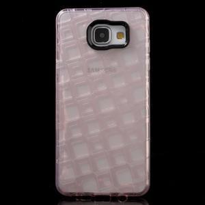 Square gelový obal na mobil Samsung Galaxy A5 (2016) - růžový - 2