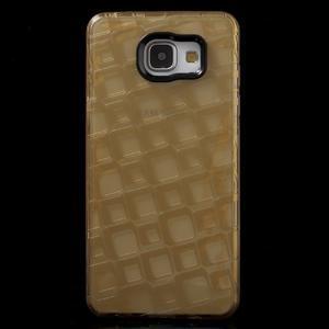 Square gelový obal na mobil Samsung Galaxy A5 (2016) - zlatý - 2