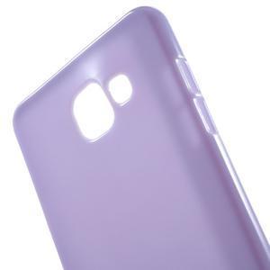 Jelly lesklý pružný obal na Samsung Galaxy A5 (2016) - fialový - 2
