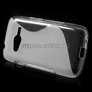 Gelové s-line pouzdro na Samsung Galaxy Ace 4 - transparentní - 2