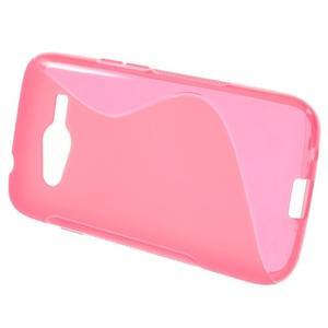 Gelové s-line pouzdro na Samsung Galaxy Ace 4 - růžové - 2