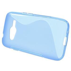 Gelové s-line pouzdro na Samsung Galaxy Ace 4 - modré - 2