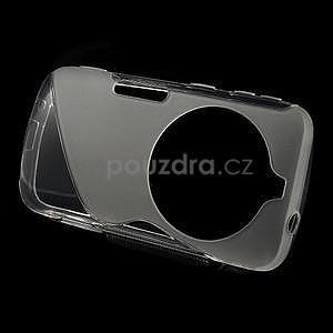 Transparentní s-line gelový kryt na Samsung Galaxy K Zoom C115 - 2