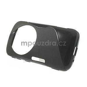 Černý s-line gelový kryt na Samsung Galaxy K Zoom C115 - 2