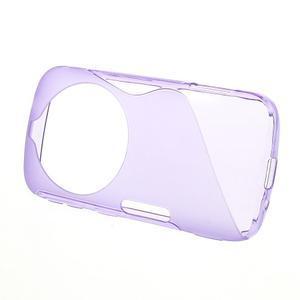 Fialový s-line gelový kryt na Samsung Galaxy K Zoom C115 - 2