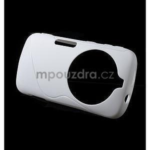 Bílý s-line gelový kryt na Samsung Galaxy K Zoom C115 - 2