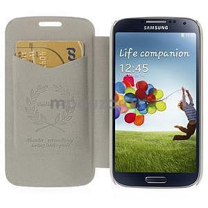 Hnědé peněženkové pouzdro na Samsung Galaxy K Zoom C115 - 2