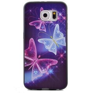 Jells gelový obal na Samsung Galaxy S7 - kouzelní motýlci - 2