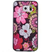 Jells gelový obal na Samsung Galaxy S7 - květiny - 2/6