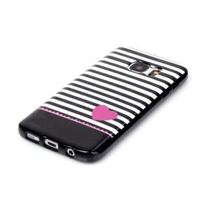 Sally gelový obal na Samsung Galaxy S7 - srdce - 2