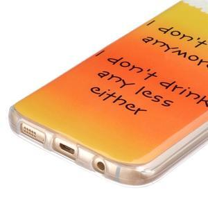 Gelový kryt na mobil Samsung Galaxy S7 - drink - 2