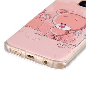 Gelový kryt na mobil Samsung Galaxy S7 - medvídek - 2
