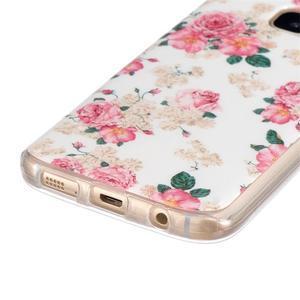 Gelový kryt na mobil Samsung Galaxy S7 - květiny - 2