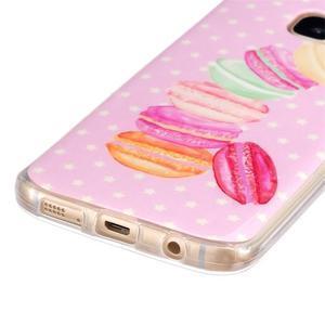 Gelový kryt na mobil Samsung Galaxy S7 - makrónky - 2