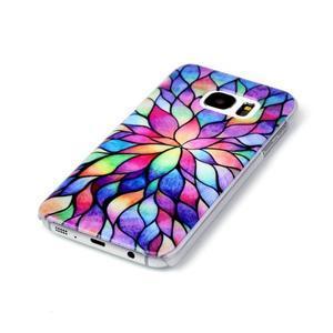 Plastový obal na mobil Samsung Galaxy S7 - petals - 2