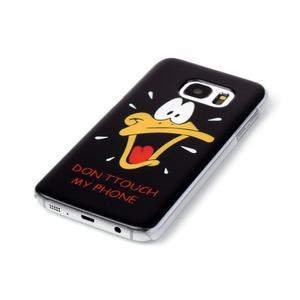 Plastový obal na mobil Samsung Galaxy S7 - kačer - 2
