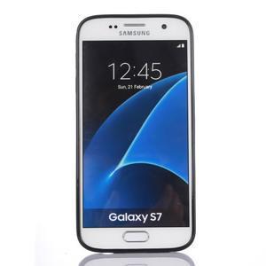Odolný hybridní kryt na mobil Samsung Galaxy S7 - bílý - 2