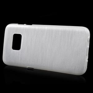 Brush gelový obal na mobil Samsung Galaxy S7 - bílý - 2