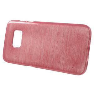 Brush gelový obal na mobil Samsung Galaxy S7 - růžový - 2