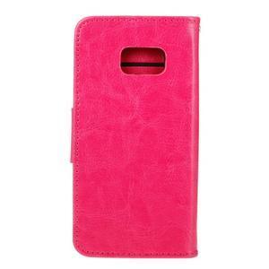 Stand peněženkové pouzdro na Samsung Galaxy S7 - rose - 2